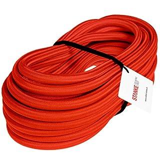 Seilwerk STANKE Gummiseil Expanderseil Rot 10 mm 20 Meter - Gummileine Spannseil Planenseil Gummischnur