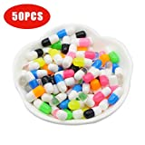 Omiky® 50PCS Buntes Styropor-Pillen-dekoratives Schleim-DIY-Handwerk Für Crunchy Schleim