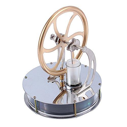 Yosoo Motore Stirling a Bassa Temperatura, Giocattolo Educativo Kit Ottimo Regalo Giocattoli di Decompressione