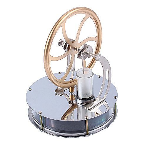 Yosoo Niedriger Temperatur Stirling Motor pädagogisches Spielzeug Kit Großes Geschenk (Motor)