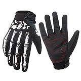 Winter MTB Voll Finger warmen Radsport Fahrrad Handschuhe Herren Motorrad Skelett Handschuhe