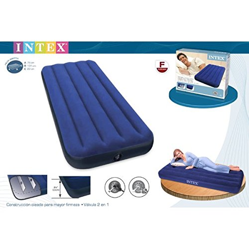 Intex - Matelas d'appoint Classic INTEX 1 place