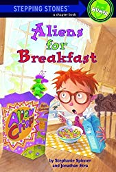 Aliens For Breakfast (Turtleback School & Library Binding Edition) (Stepping Stone Books) by Stephanie Spinner (1995-01-01)