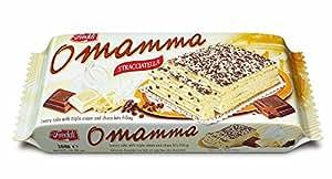 O'Mamma Stracciatella Torta Farcita al Latte con Pezzi di Cioccolato - 300 gr