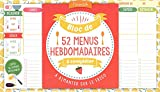 Bloc de menus à compléter Mémoniak 2020...
