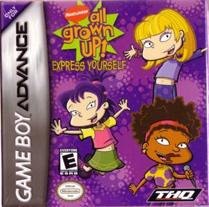 Rugrats: All Grown Up / Game