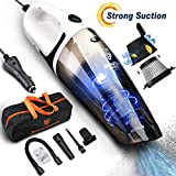 Best Car Vacs - Car Vacuum Cleaner, 5500PA Cyclonic High Powerful Wet Review