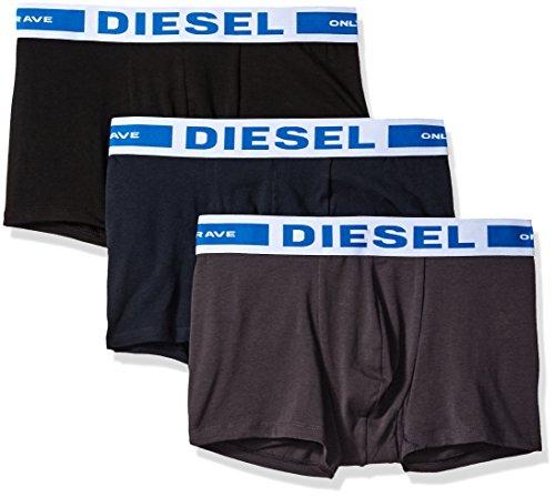 Diesel Herren Boxershorts UMBX-KORYTHREEPACK, 3er Pack, Mehrfarbig (Grey/Blue/Black 10), Medium