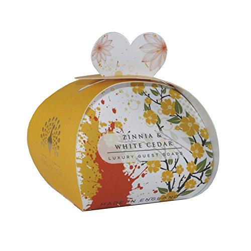 English Soap Company Seife 'Zinnia & white Cedar' 3x20g Geschenkbox - Cedar 20