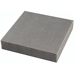 KnorrPrandell 25x 25x 5cm Filz macht Boden Matte, schwarz