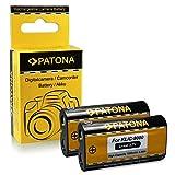 2x Batteria Kodak Klic-8000 / Ricoh DB-50 per Kodak EasyShare Z612 | Z712is | Z812is | Z8612is | Z1012 | Z1012is | Z1015is | Z1085is | Z1485is | Z8612is | Zx1 | RICOH Caplio R1 | R1S