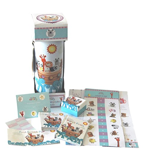 Pink Baby Girl Elephant Nappy Cake Gift Hamper with keepsake capsule (Deluxe 3 Tier) FREE DELIVERY