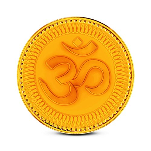 Zaamor Diamonds 1 gm, 24k (999) Yellow Gold Precious Coin  available at amazon for Rs.3391