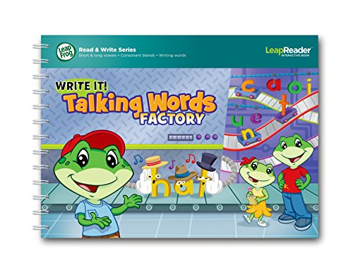 LeapReader - Livre - Write it! Talking Words Factory - Edition Anglaise (Import Royaume-Uni)