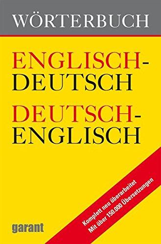 Wörterbuch: Englisch/Deutsch, Deutsch/Englisch