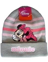 Bonnet Gris Minnie Mouse Disney, Image Brodée - Marchandise certifiée Disney