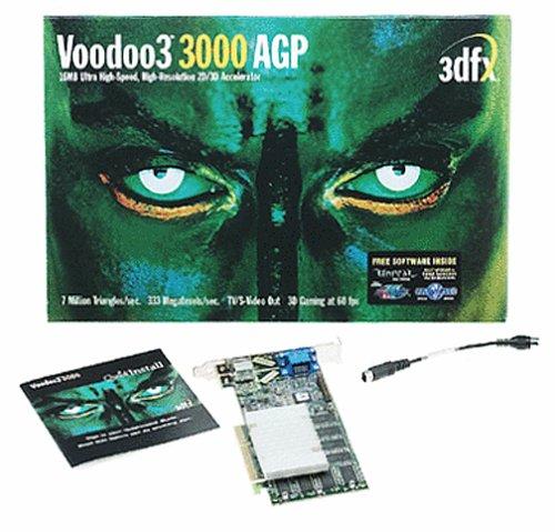 3DFX Voodoo33000AGP Grafikkarte