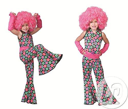 Polka Dot Anzug für Mädchen Gr. 164 (80er Jahre-kostüm Mädchen Der)
