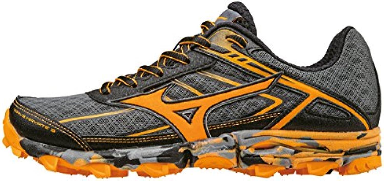 Mizuno Wave Hayate 3 (W), Zapatillas de Running para Asfalto para Mujer, Negro