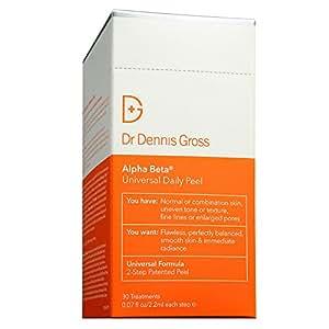 Dr. Dennis Gross Skincare Alpha Beta Daily Face Peel Original Strength 30 Packettes