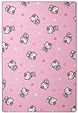 Kinderteppich Hello Kitty - Farbe: Pink | Spielteppich versandkostenfrei schadstoffgeprüft pflegeleicht und antistatisch | schmutzabweisend robust strapazierfähig | Kinderzimmer Spielzimmer Kids Fun , Farbe:Pink, Größe:120 x 170 cm