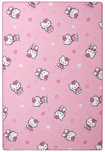 Kinder-fun-teppich (Kinderteppich Hello Kitty - Farbe: Pink   Spielteppich schadstoffgeprüft pflegeleicht und antistatisch   schmutzabweisend robust strapazierfähig   Kinderzimmer Spielzimmer Kids Fun , Farbe:Pink, Größe:160 x 240 cm)