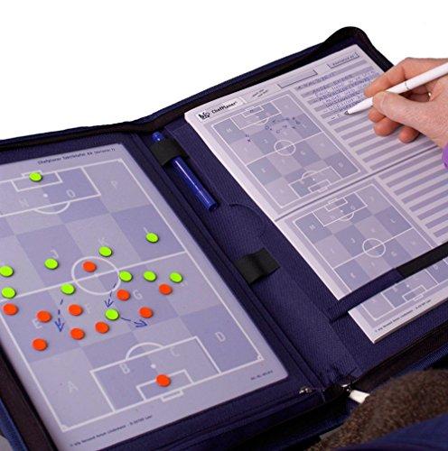 bfp Versand Unisex– Erwachsene bfp Chefplaner Trainermappe A4 | Taktikmappe, blau