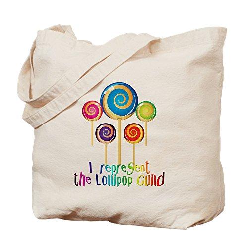 (CafePress Lollipop Guild Oze Tragetasche, canvas, khaki, M)