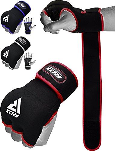 RDX Fasce Boxe Bende per Mani Polsi Elastiche Pugilato Bendaggi Elastiche MMA Guanti Interi Sottoguanti