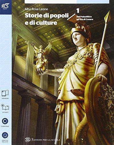 Storia di popoli e culture. Per le Scuole supe riori. Con e-book. Con espansione online: 1