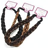 schimmert–geschoben Plait Hochwertiger geflochten Dick Haarband