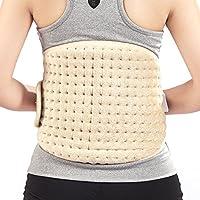 yuwell Elektrische Heizung Gürtel Wärme Pad Wrap Verstellbare Taille unteren Rücken Lendenwirbelstütze Massage... preisvergleich bei billige-tabletten.eu