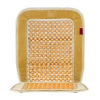 HEYNER Premium Holzkugel-Sitzauflage beige