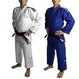 Kimono de judo adidas IJF 2015 Champion II blanc 730 gr/m2