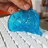 Pulizia della tastiera colla cristallo magico fango pulito computer notebook pulizia rimuovere polvere colla morbida (colore casuale)