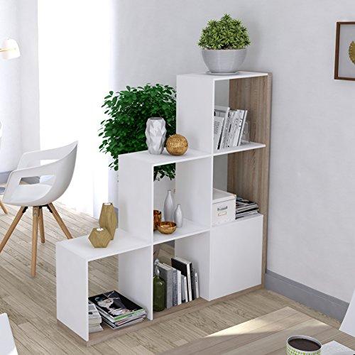 Abitti Estantería librería forma escalera diseño