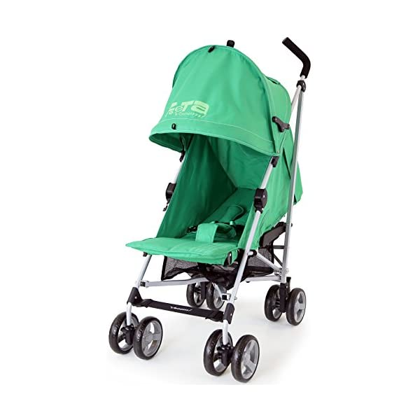 ZeTa Vooom Baby Stroller - Leaf (Green) ZETA Zeta Vooom Will Exceed You Expectations! Over 70,000 Thousand Parents Just Like You Own The Zeta Vooom And Have Rated It As The Best Stroller They Have Ever Had! Unique Drop Down Hood (Copy Right Protected), Superb Quality Product! The Best Money Can Buy! Better Than Any Pushchair In Its Class! Complete With FREE Rain Cover, Suitable From Birth 1