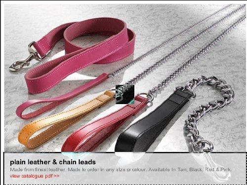 leather-chain-dog-lead-red-medium-5-8-x-30