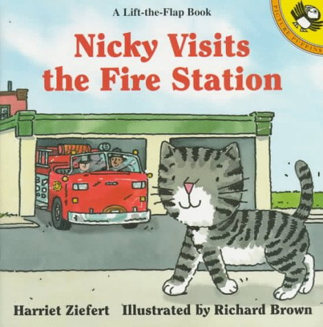 Nicky Visits the Fire Station (Picture Puffin)