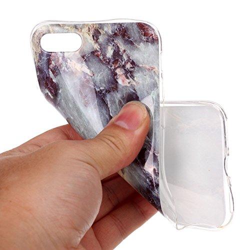 EKINHUI Case Cover Für Apple IPhone 6 6s Fall Marmorierung Textur Weiche TPU Abdeckung Slim Ultra Thin Anti-Kratzer Schock Absorption schützende rückseitige Abdeckung Shell ( Color : P ) L