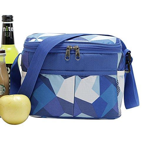 Yvonnelee bello e praticamente raffreddamento Picnic pranzo Borse Blue 5 Litre Blue 5 Litre