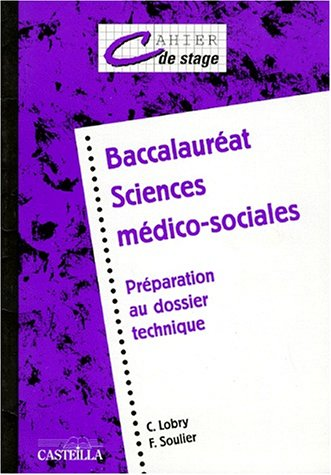 Bac SMS : cahier de stage