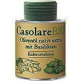 Farchioni Olivenöl mit Basilikum (100 ml) - Bio