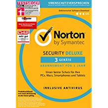 Norton Security Deluxe | 3 Geräte | PC/Mac/Smartphone/Tablet | Download