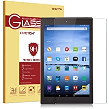 OMOTON Fire HD 10 Vidrio Templado Protector de Pantalla Glass Screen Protector con[9H Dureza] [Alta Definicion][HD ultra delgado][Garantía  de por vida]
