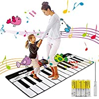Magicfun Musical Piano Mat Portable Electronic Educational Musical Blanket Toys Gifts