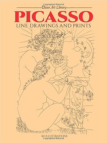Picasso Line Drawings and Prints (Dover Fine Art, History of Art) por Pablo Picasso