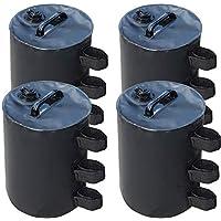 ABCCANOPY Gazebo Water Weights Bag, Portable Leg Weights Water Fillable Weights for Pop up Canopy Gazebo, 4pcs-Pack
