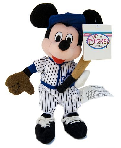 'Disney Mickey 8Baseball Bean Bag Plush by Disney (English Manual) (Bean-bag-baseball)