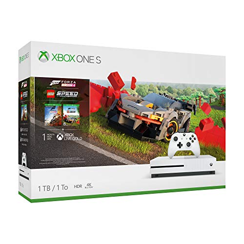 Microsoft Xbox One S 1TB - Forza Horizon 4 LEGO Speed Champions Bundle